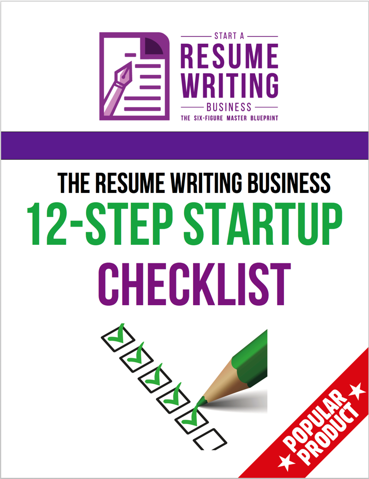 how to start a resume writing business